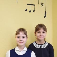Кирилина Полина, Погудина Софья и