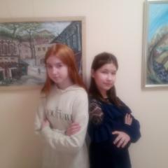 Селиванова Елизавета, Криницына Ева и