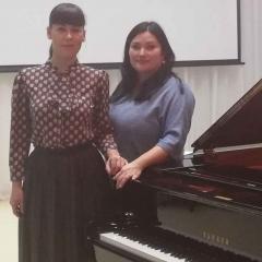 Сухарева Ксения Александровна, Попова Антонина Евгеньевна и