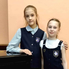 Суслова Карина, Полухина Ольга и
