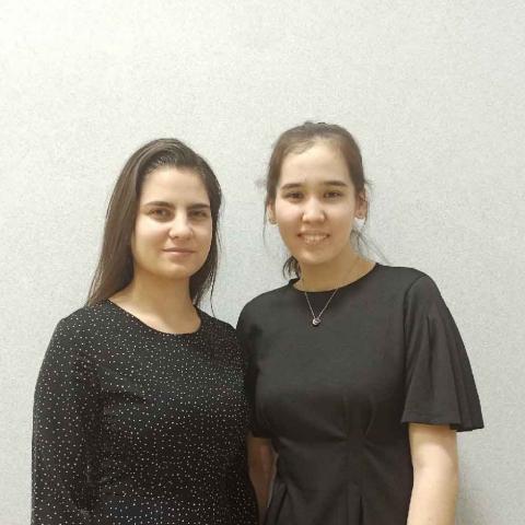 Давилина Анна Эмилия, Шаукембаева Джанис