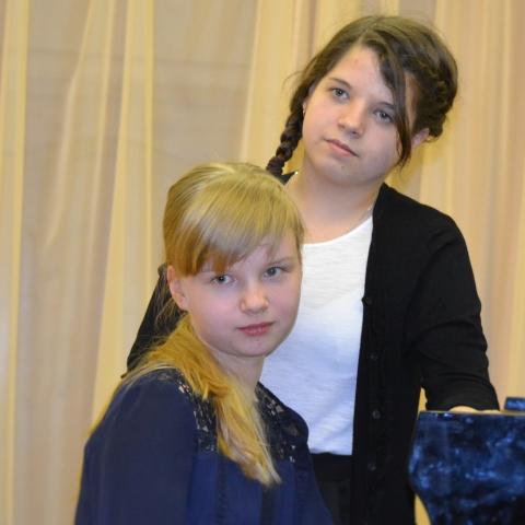 Морозова Параскева и Макашина Екатерина