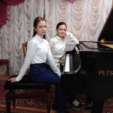 Туманцева Екатерина, Коломоец Владислава