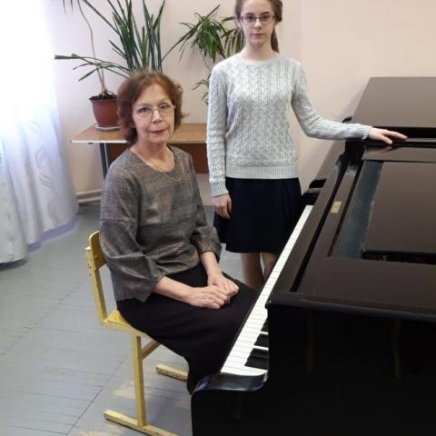 Чернова Анастасия, Романова Алла Александровна
