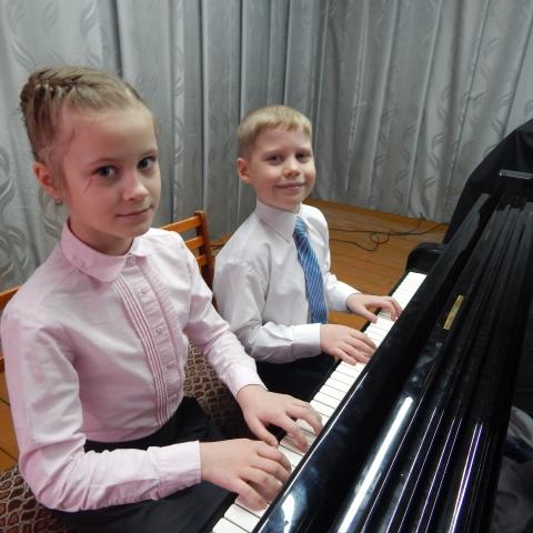 Польшина Кристина и Борисов Владимир