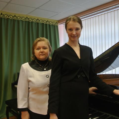 Пензева Евгения Владимировна и Пашкина Вера Андреевна