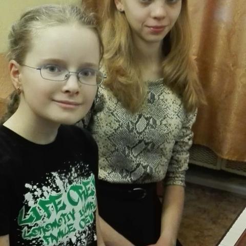 Козачук Анна и Хохлова Анна