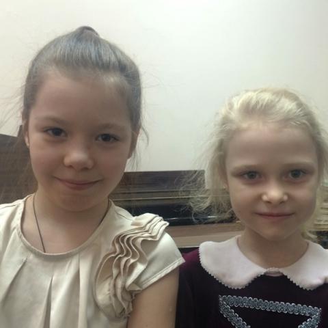 Агеева Анна и Приходько Елизавета