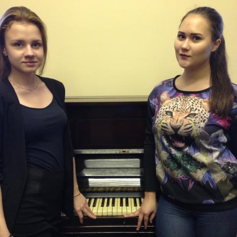 Моисеева Анастасия и Шаврова Светлана