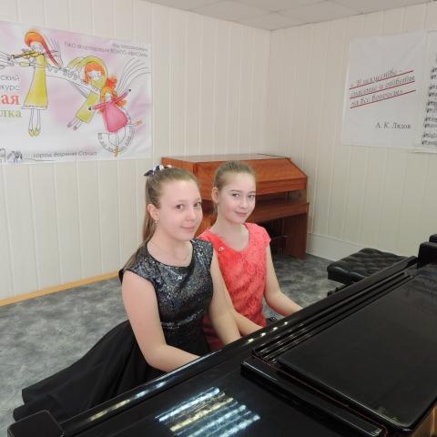 Шибаева Анна и Золотухина Варвара
