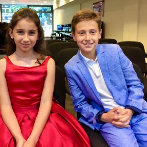 Isabel Agadzanov & Mark Alekseenko