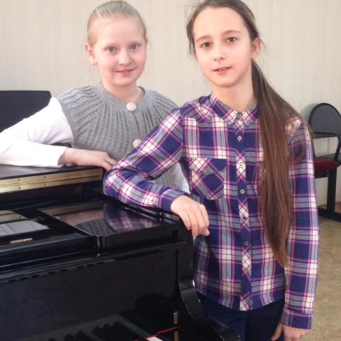 Федорова Полина и Кашкина Анастасия