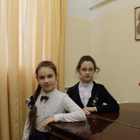 Ленёва София и Хоменко Дарья
