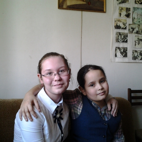 Тагиева Лейла и Букина Яна