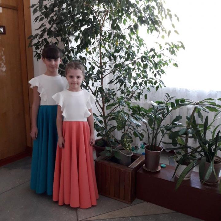 Никитина Дарья и Рубекина Елизавета