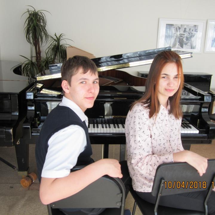 Ракевич Полина и Смирнов Никита